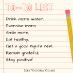 To do list Izey Odiase