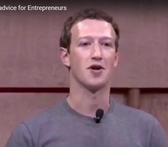 Mark Zuckerberg's advice for Entrepreneurs