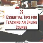 Tips for Teaching Online