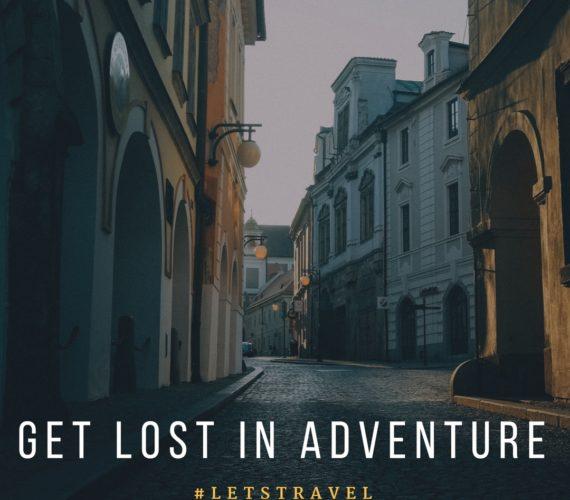 Get lost in adventure