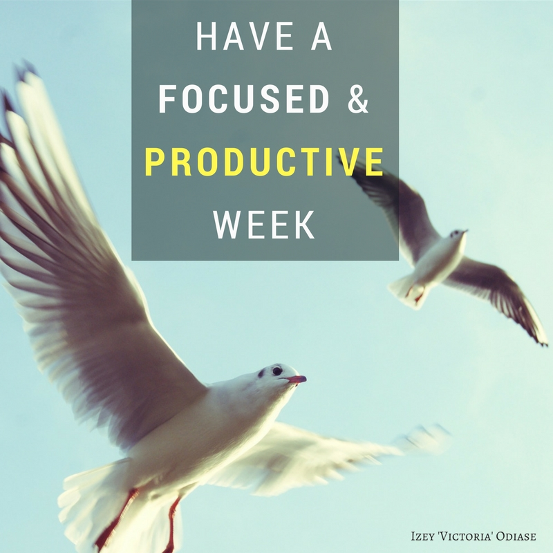 Quotes for a focused and productive week