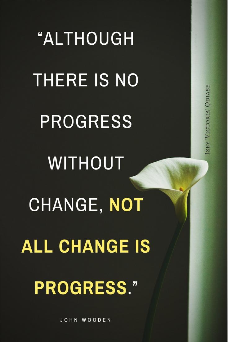 Quotes on making progress