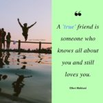 Quotes On True Friendships