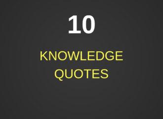 10 Knowledge Quotes - Izey Victoria Odiase