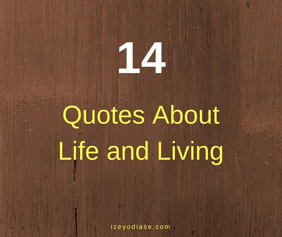 14 quotes about life and living life izey victoria odiase
