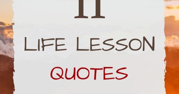 11 Life Lesson Quotes - Izey Victoria Odiase